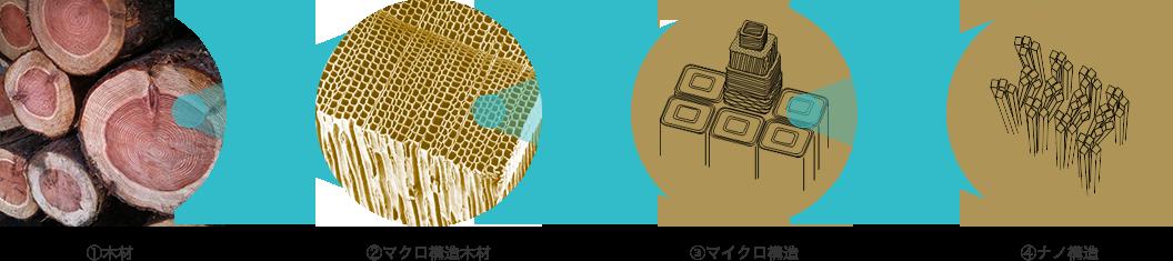 CNF構造のイメージ